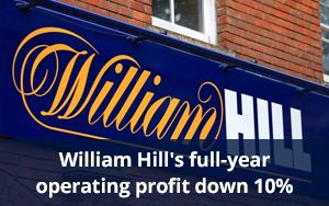 Выручка William Hill выросла, прибыль снизилась в первом полугодии